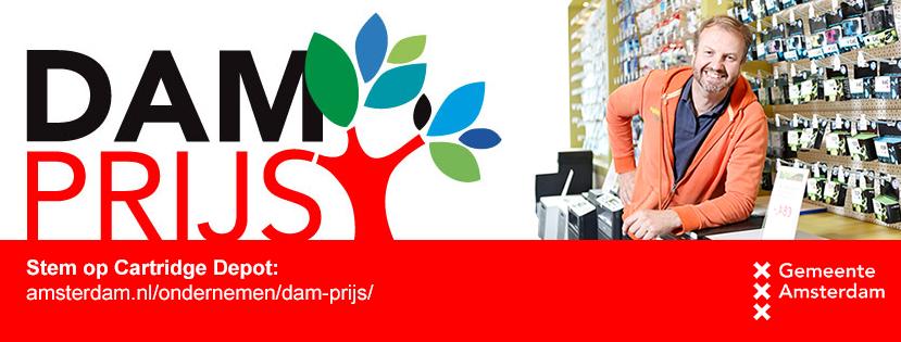 DAMprijs banner